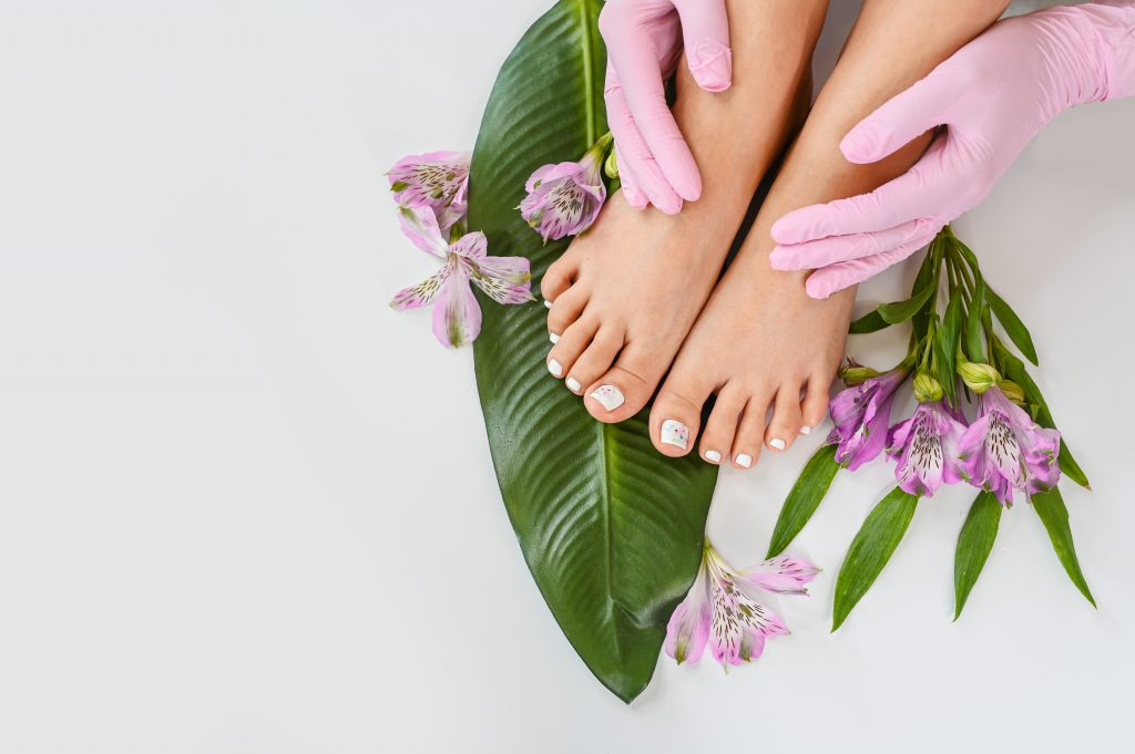 Contract manufacturing of peeling for feet